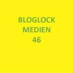 Bloglock Medien 46 auf gelbem Grund
